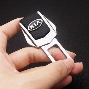 Image 3 - รถความปลอดภัยหัวเข็มขัดคลิปใส่ปลั๊กคลิปคุณภาพดีรถที่นั่งเข็มขัดหัวเข็มขัดสำหรับ KIA Cerato Sportage R K2 K3 k5 RIO 3 4 Sorento