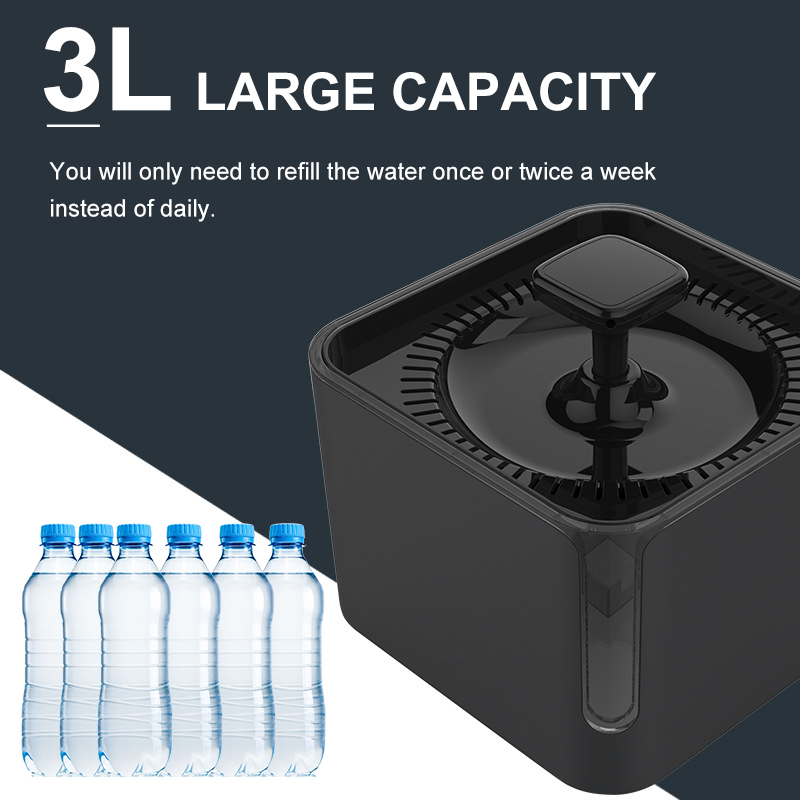 Cats Feeding & Watering Accessories Feeding & Watering Accessories Automatic Pet Drinking Fountain 360° Circulating Filtration -3L  My Pet World Store