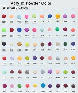 Image 5 - 120 цветов, акриловый порошок для ногтей по кг, акриловый порошок для УФ дизайна ногтей, полимерный конструктор, новый 2020, резной узор, украшение, порошок