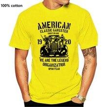 Американская Классическая футболка с бандит, хлопковая белая футболка Подарок Ou футболка топы Летняя крутая забавная футболка