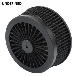 Image 4 - Motorcycle Air Cleaner Filter System Inner Element Black For Harley Sportster 883 1200 XL Dyna Softail Fat Boy Touring Road King