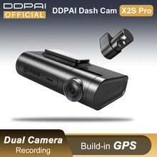 DDPai Dash Cam X2S Pro HD GPS Hidden Vehicle Drive Auto Video DVR Android Wifi Smart Connect Car Camera Recorder Parking Monitor