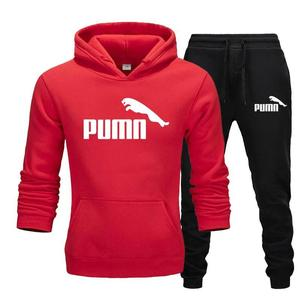 Autumn Winter Hot Brand Two Pieces Sets Thick Hoodies Tracksuit Men/Women Sportswear Gyms Fitness Training Hoodies Sweatshirts18
