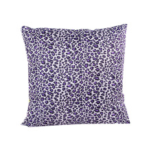 new fashionable leopard pattern home sofa cushion covers 45*45cm without inner funda cojin square blue home pillow covers X78 stylish flappy giraffe pattern square shape flax pillowcase without pillow inner
