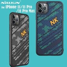 IPhone 11 Pro Max kılıf kapak için NILLKIN forvet kılıfı 3D doku TPU silikon yumuşaklık arka kapak iPhone11 Pro iPhone 11