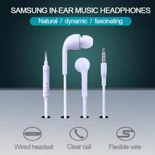 Controle com fio in-ear fone de ouvido com microfones handfree alta qualidade de som jogos música vídeo fone de ouvido chamada clara para samsung telefone