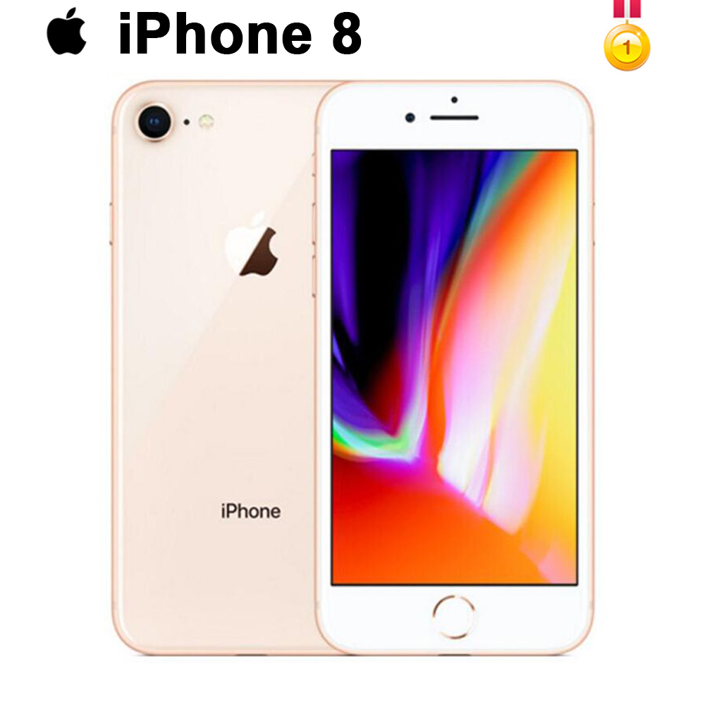 Original Apple IPhone 8 1821mAh RAM 64GB/256GB Hexa-core IOS 3D Touch ID LTE 12.0MP Camera 4.7