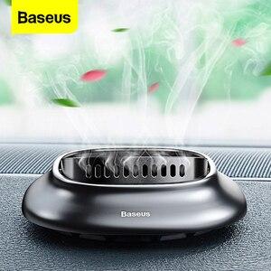 Image 1 - Baseus Car Air Freshener Car Phone Holder Solid Air Freshener Perfume Diffuser Luxury Air Purifier Aromatherapy Car fragrance