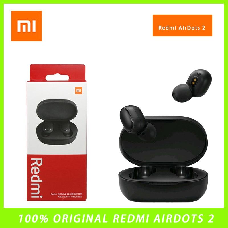 2021 Xiaomi Redmi Airdots 2 Bluetooth-наушники; Беспроводные Bluetooth-наушники; Управление; Игровая гарнитура с микрофоном; Шумоподавление; Ewq