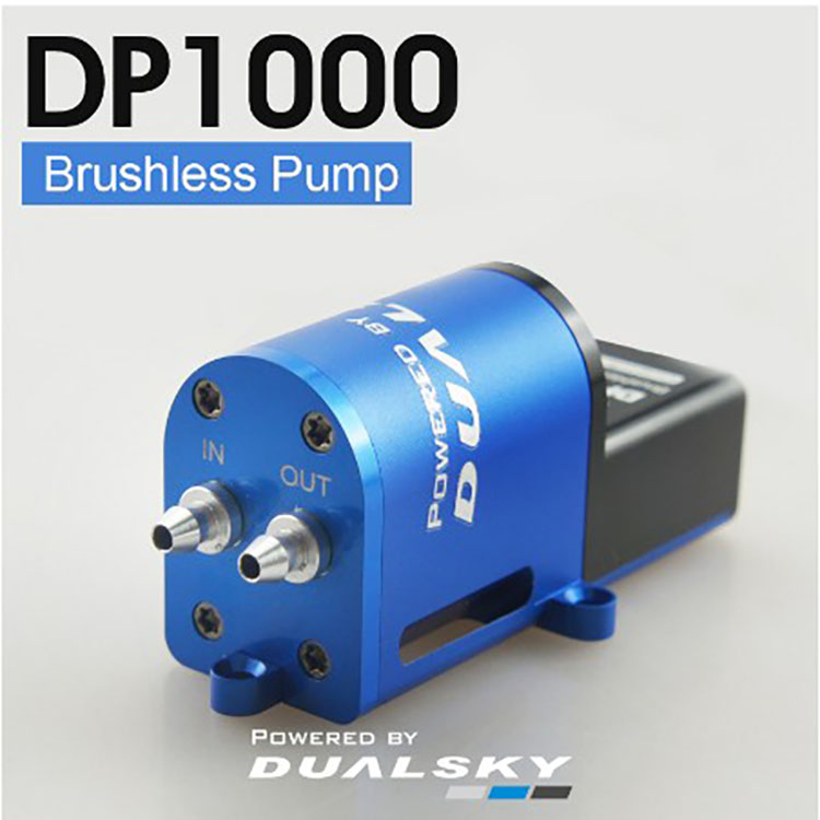 Brushless Drive Fume Pump Fuel Pump Adjustable Flow Rate for RC Airplane Smoking Systems f for Giant or Jet Models