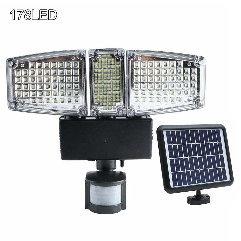 178/188 LED Garden Light Security Detector Solar Light Motion Sensor Outdoor Floodlight Garden Street Road Light