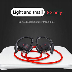 Image 5 - Wireless Bluetooth Earphones Sport Earbuds Stereo Headset With Mic Earloop Ear Hook Headphone Handsfree Earpiece For Smartphones