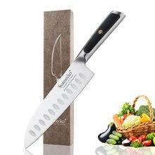 """Sunnecko 7 """"нож santoku немецкий лезвие из 14116 стали"""