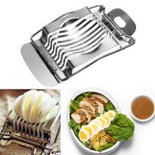 2 шт Яйцерезка сечение Резак пресс-форма инструмент кухонный измельчитель инструмент из нержавеющей стали