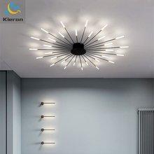 Dandelion-Lamp Led-Ceiling-Light Fireworks Bedroom Home-Decor Living-Room Designer Nordic-Luxurious