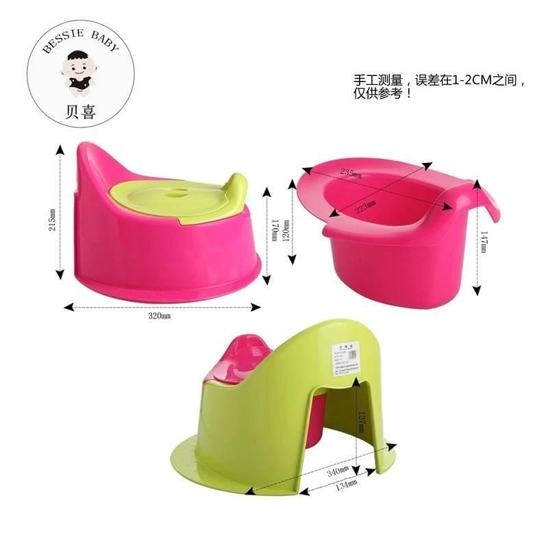 Toilet For Kids 1-3-6-Year-Old Plus-sized Baby Girls BABY'S Toilet Men's Potty Soft Seat Cushion Toilet Seat
