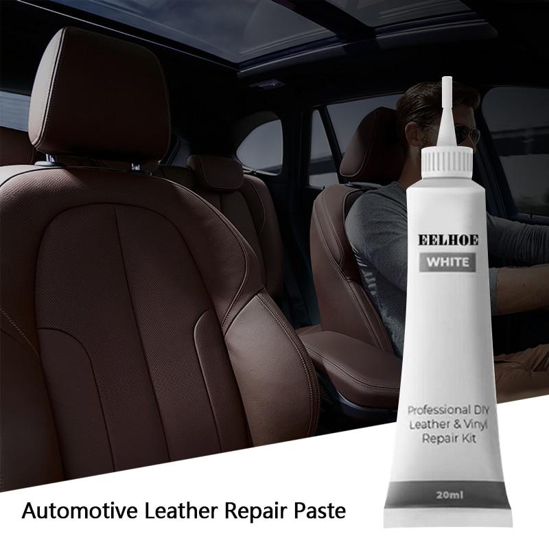 Automobiles Leather And Vinyl Repair Cream Truck Motorcycles Seat Sofa Coats Holes Scratch Cracks Rips Liquid Repair Tool TSLM1