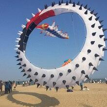 Воздушный змей Rolling dragon поворотное кольцо с шипами кулон воздушный змей