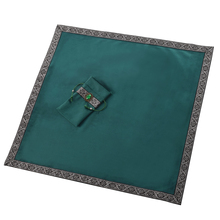 2pcs/Set Velvet Altar Tarot Cards Bag Party Table Cloth Board Game Tablecloth Divination Witch Wizard Cosplay