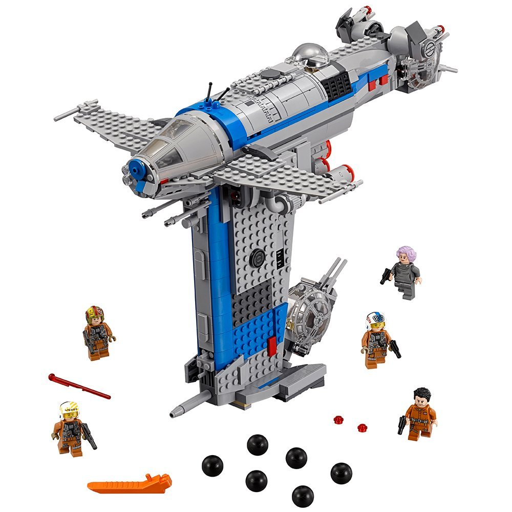 Starwars Compatible with Legoinglys Star Wars <font><b>75188</b></font> Resistance Bomber Building Blocks 873Pcs Bricks Toys for Children image