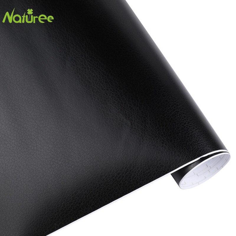 30cm*152cm Leather Pattern PVC Adhesive Vinyl Car Film Stickers Waterproof Auto Internal Decoration DIY Wrap(China)