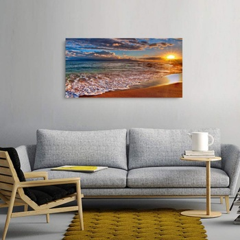 Seascape Beach Pictures Printed Canvas Paintings Contemporary Wall Art Decor Poster Artwork For Bedroom Living Room