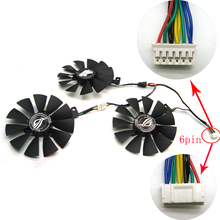 FreeShipping T129215SH /T129215SL 12V 0.30Aพัดลมขนาด87มม.3หลุมสำหรับASUS ROG STRIX RTX 2070 O8G GAMINGกราฟิกการ์ดระบายความร้อนพัดลม