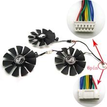 Livraison gratuite T129215SH /T129215SL 12V 0.30A ventilateur taille 87mm 3 trous pour ASUS ROG STRIX RTX 2070 O8G GAMING carte graphique ventilateur de refroidissement