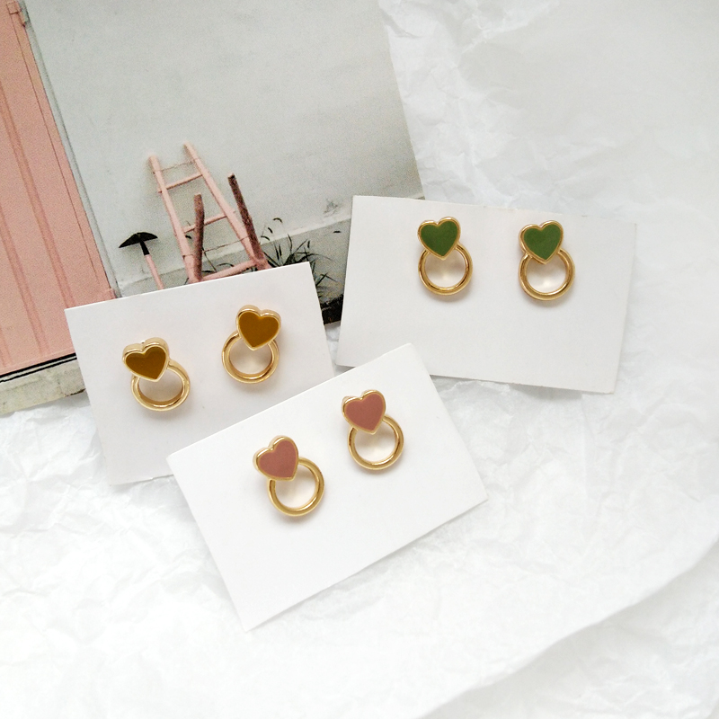 Collection more than simple earrings fashion unique combination of earrings retro metal earrings women earrings wholesale in Drop Earrings from Jewelry Accessories