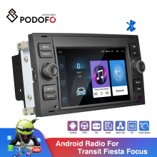 Multimedia-Player Car-Radio Gps-Stereo Podofo Android S-Max/mondeo 2din 7''-Inch