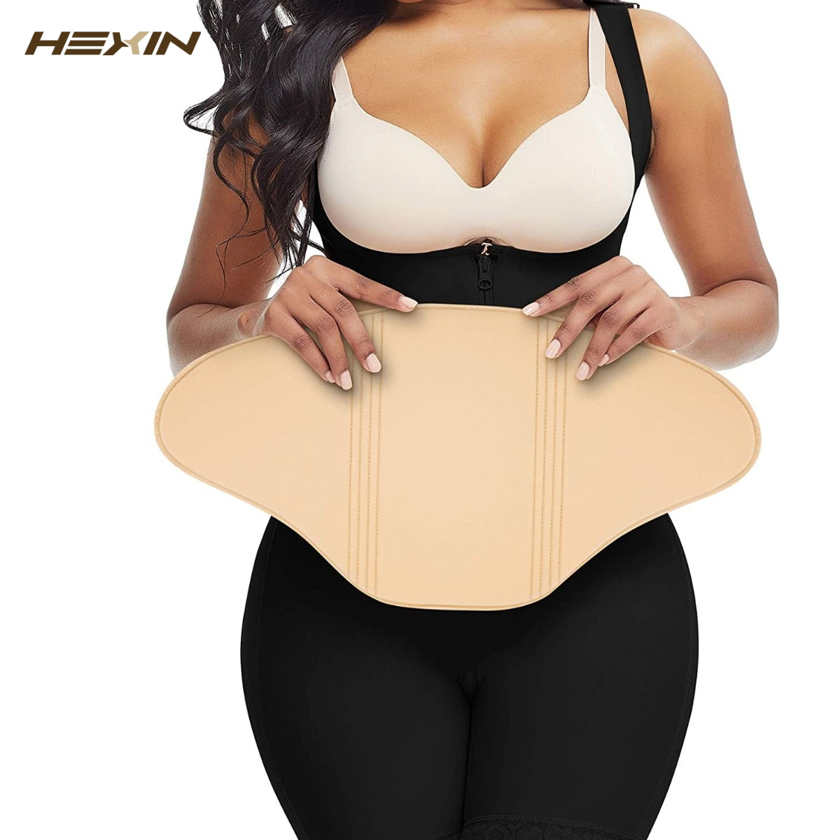 HEXIN Ab доска для постхирургии, компрессионная доска, приятная для кожи, Липо-пена, плоская, Абдоминальная доска, тампон, восстановление после ...