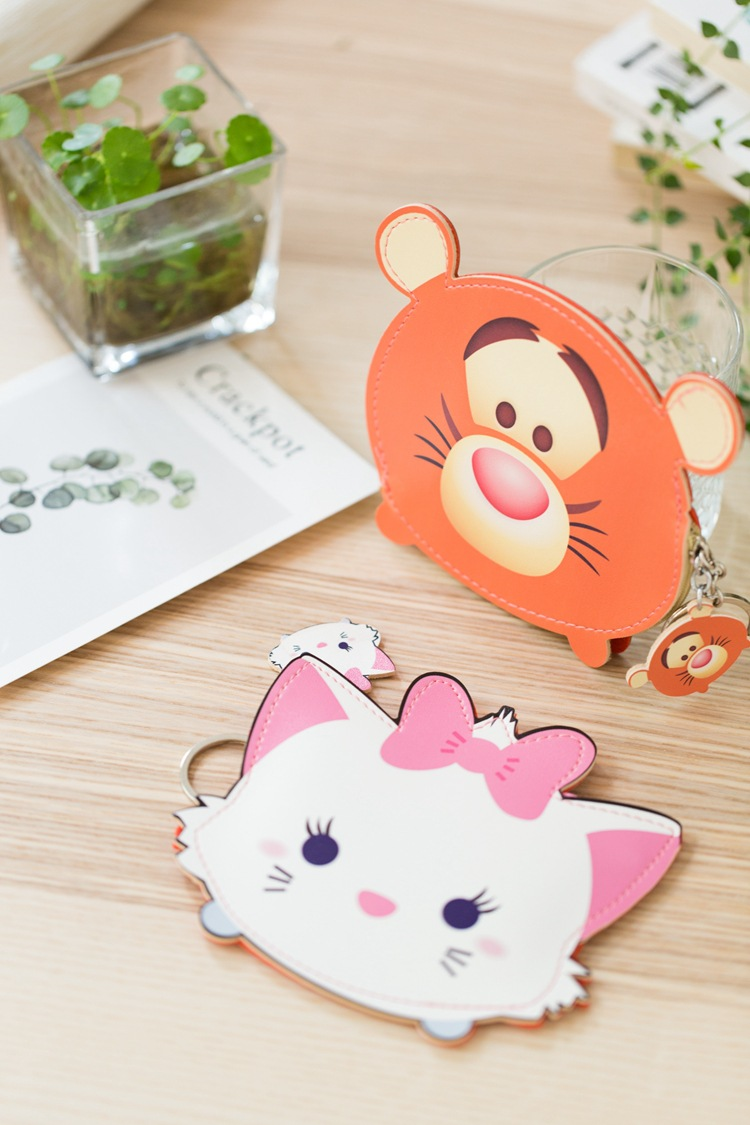 Cute Winnie The Pooh Cartoon Creative Wallet Cool PU Coin Bag Korean-style Short Simple Hipster Storgage Bag