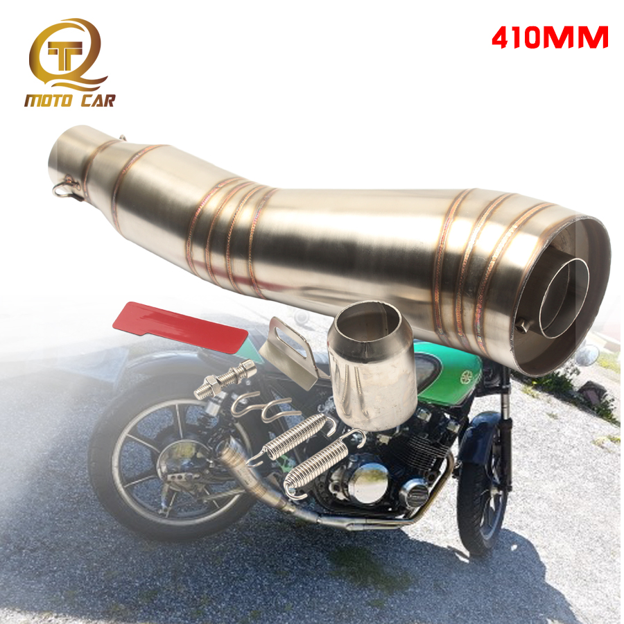Motorcycle <font><b>exhaust</b></font> Pipe Muffler Escape GP Moto 51MM DB killer Silencieux Universel for R1 <font><b>R3</b></font> Z750 Z800 Z250 Z900 MT07 cbr500 400 image