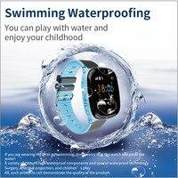 2020 à prova dip67 água ip67 relógio inteligente hw11 gps posição tela de toque gps inteligente