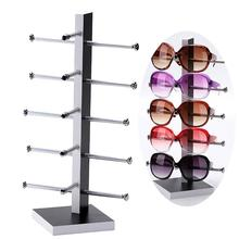New Arrival Wood Display Stand For Sunglass 3D Glass 5 vice