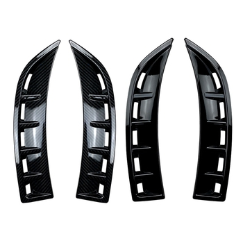 Front Bumper Air Vent Cover Trim Splitter Spoiler for -Benz CLA Class C118 CLA180 CLA200 2020+ image