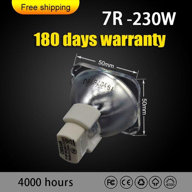 شحن مجاني أوسرام 230 واط 7R مصباح لنقل رئيس ضوء شعاع ضوء المرحلة P VIP 230/1.0 E20.6