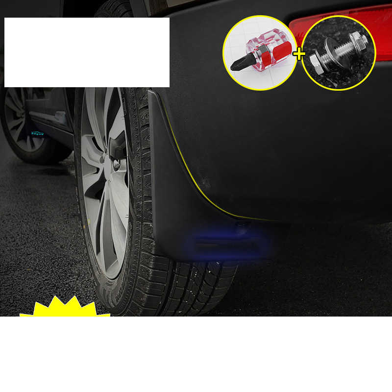 Lsrtw2017 Abs Car Wheel Mudguard Mud Fender Dor Geely Boyue Atlas 2016 2017 2018 2019 2020 Interior Mouldings Accessories