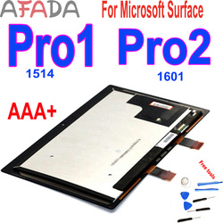 New 10.6'' For Microsoft Surface Pro 1 Pro1 Pro2  LCD Display Touch Screen Digitizer Assembly For Surface Pro 1 1514 Pro 2 1601