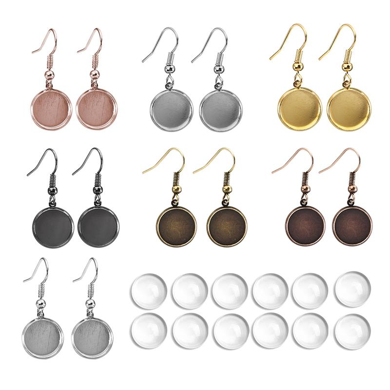 100Pcs Ball Stud Earring Pins// Ear Base for Earrings DIY Jewelry Accessories