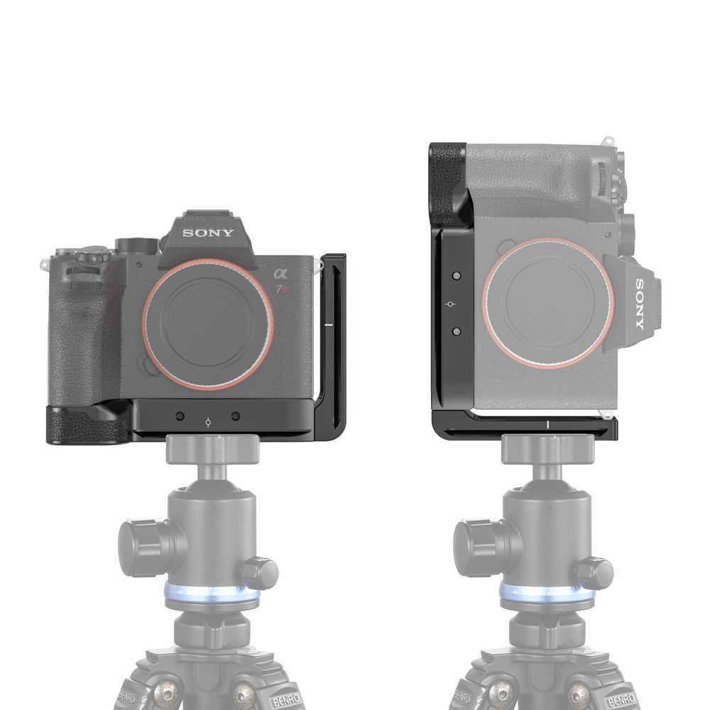 SmallRig A7R IV L placa de soporte para Sony A7R IV Arca-placa lateral estándar Suiza + placa base L placa de montaje-2417
