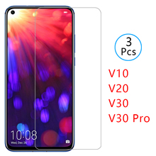 case on honor view v 10 20 30 pro cover tempered glass screen protector for huawei honer v10 v20 v30 protective phone coque bag aurora luminous phone case for huawei honor view v30 v20 v10 night shine bcak cover for honor v30 dazzle colour glass case coque
