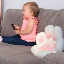 70*60CM kot niedźwiedź Paw pluszowe poduszki siedzenia kryty podłoga nadziewane Sofa kolorowe dekoracje z wzorami zwierząt poduszka dla dzieci dorośli prezent tanie i dobre opinie JOCESTYLE CN (pochodzenie) 7-12y 12 + y Cat Paw Plush Cushion