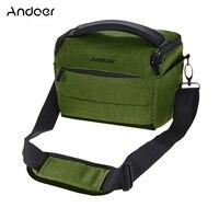 Andoer DSLR Camera Shoulder Bag Portable Polyester Camera Case lens pouch Accessories for Canon Nikon Sony FujiFilm Olympus