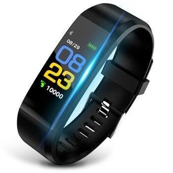2021 New Smart Bracelet Men Women Smartwatch with Heart Rate Blood Pressure Monitor Fitness Tracker Smart Watch Sport Smartwatch 6