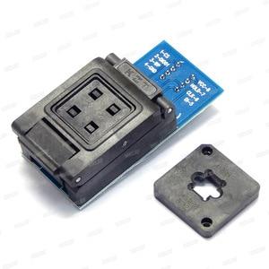 Image 5 - محولات BGA24 to DIP8 لـ RT809H RT809F TL866CS TL866A EZP2010 EZP2013 مبرمج + 2 قطعة إطار شريحة IC مقاس 6*4 مللي متر + 5*5 مللي متر مصفوفة