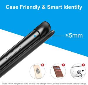 Image 5 - FDGAO 15 ワットワイヤレス充電器スタンド USB C チー高速充電パッドドックステーション電話ホルダー 11 プロ XS XR × 8 サムスン S10 S9