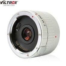 VILTROX C AF 2X II AF automatyczne ustawianie ostrości telekonwerter obiektyw powiększenie powiększenie obiektywy do aparatu Canon mocowanie EF obiektyw lustrzanka cyfrowa