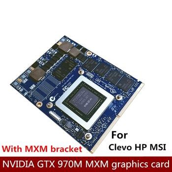 Original GTX 970M notebook graphics card MXM interface N16E-GT-A1 Clevo MSI HP available Clevo P150EM P170EM P751ZM