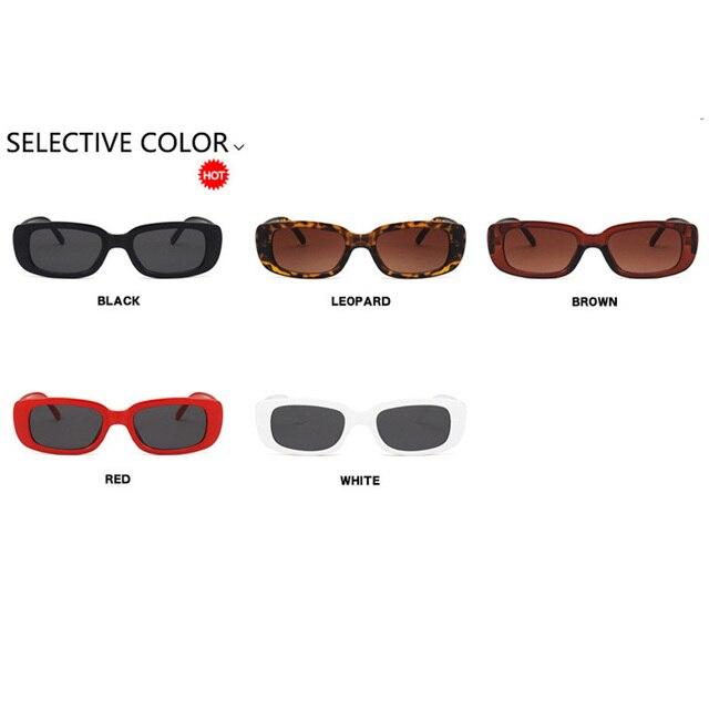 2021 스퀘어 레이디 선글라스 럭셔리 브랜드 여행 작은 사각형 태양 안경 남성과 여성 안경 빈티지 레트로